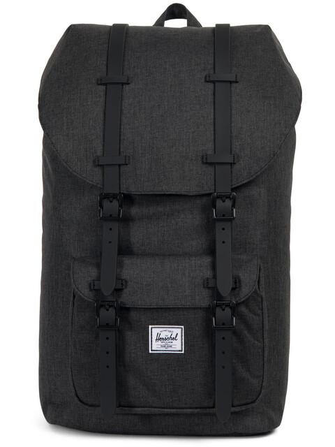 Herschel Little America Backpack Unisex, black crosshatch/black